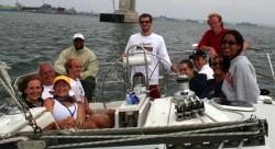 2005 REU Physics of Sailing Trip