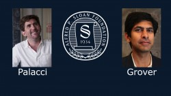 Alfred P. Sloan Foundation has named Professors Tarun Grover and Jeremie Palacci as 2017 Sloan Fellows